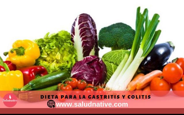 Dieta para la gastritis y colitis