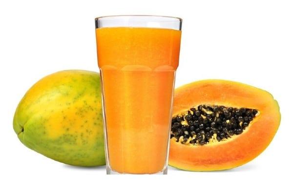 jugo de papaya para colitis