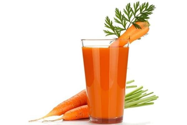 jugo de zanahoria para colitis