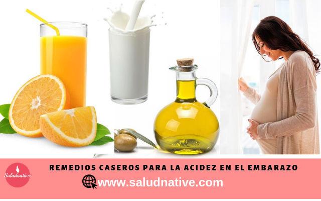 remedios caseros para la acidez en el embarazo