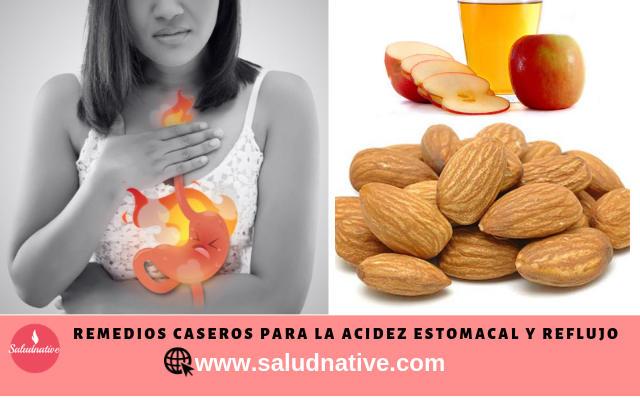 remedios para la acidez estomacal