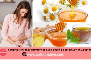 remedios caseros para dolor de estomago