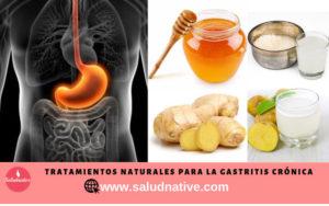gastritis crónica remedios caseros
