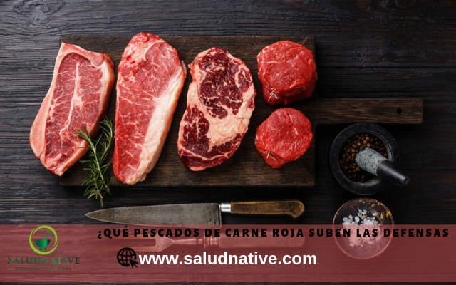 carnes rojas para defensas en adultos