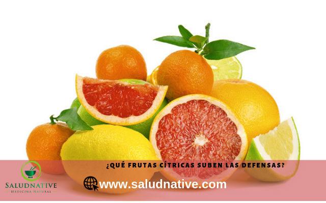 frutas citricas para subir defensas