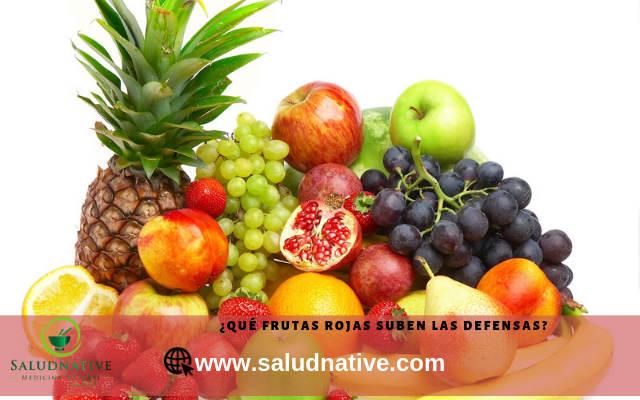 frutas rojas para mejorar el sistema inmunologico