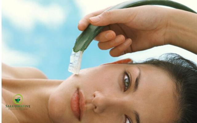 mascarilla de aloe vera para la piel
