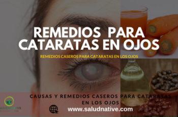 remedios caseros para las cataratas de los ojos