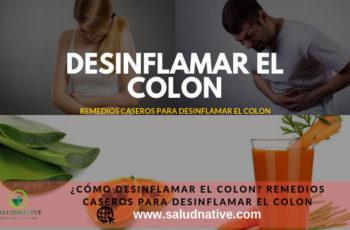 remedios caseros para desinflamar el colon