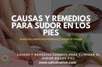 remedios caseros para eliminar el sudor en los pies