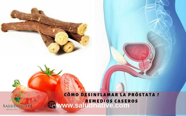remedios naturales para la prostata crecida