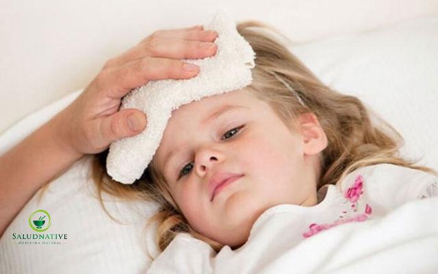 remedios caseros para la fiebre en niños