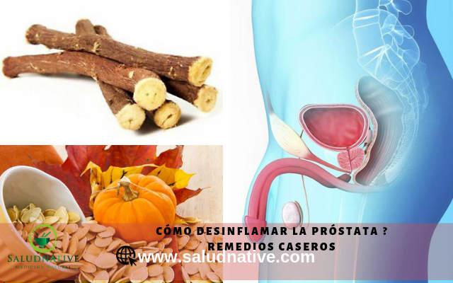 como desinflamar la próstata
