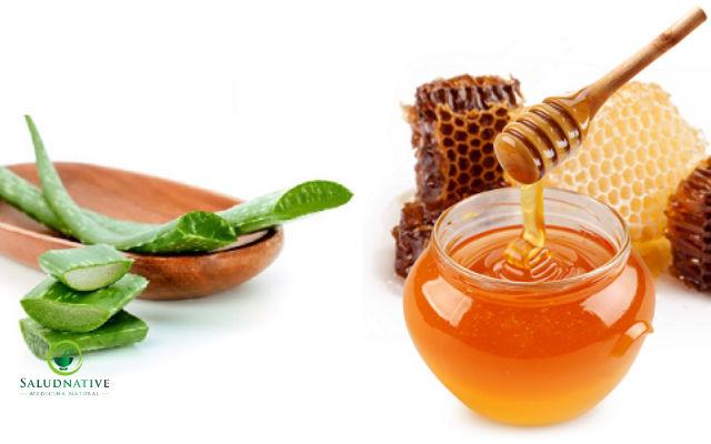 miel y aloe vera para eliminar las cataratas de los ojos