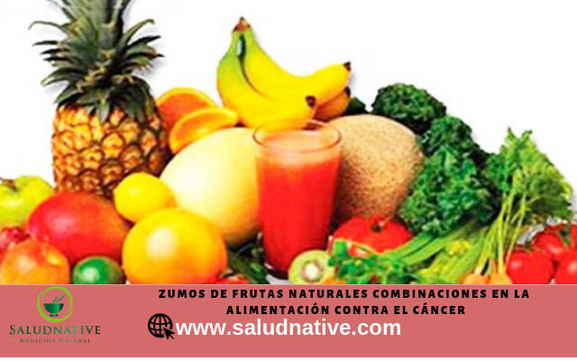 zumos naturales contra el cancer