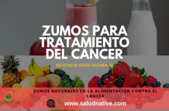 jugos contra el cancer