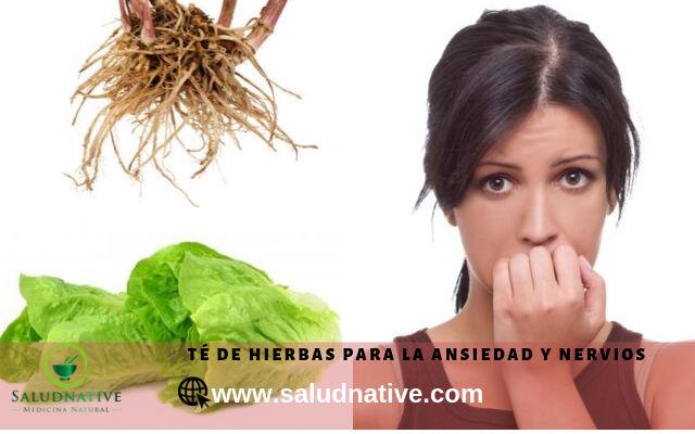 hierbas para calmar la ansiedad y nervios