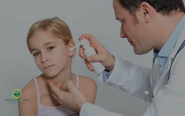 higiene de los oidos en los niños