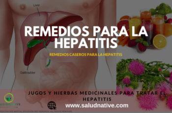 jugos curativos para hepatitis