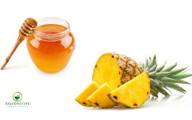 miel y piña para eliminar arrugas de la cara