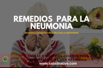como recuperarse de una neumonia