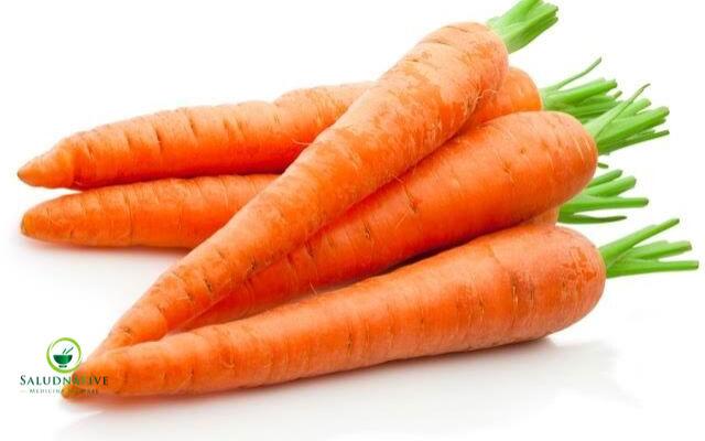 zanahoria para los ojos inflamados