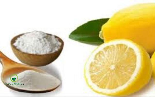 limon con bicarbonato para eliminar manchas oscuras de la espalda