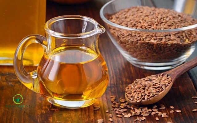 agua de linaza para tratar dolor de senos