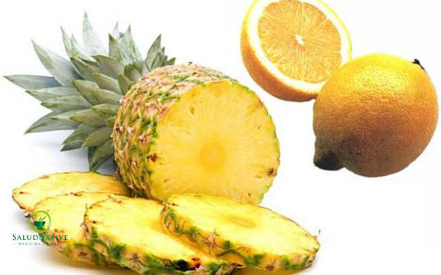 mascarilla de piña y limon para manchas oscuras