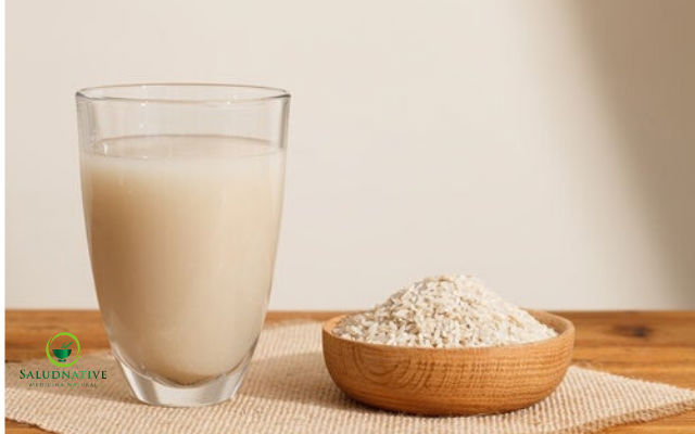 agua de arroz para tratar la diarrea