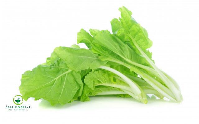 hojas de lechuga para aliviar el dolor en la boca del estomago