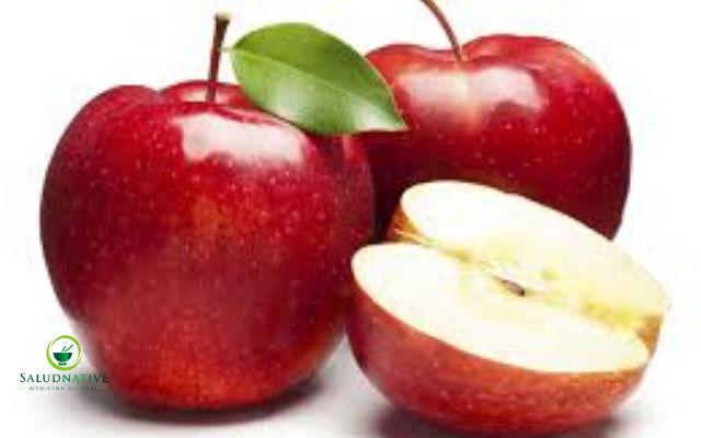 manzana para tratar la diarrea