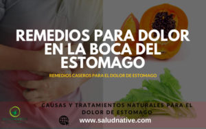 Dolor en la boca del estomago : Causas y tratamiento natural