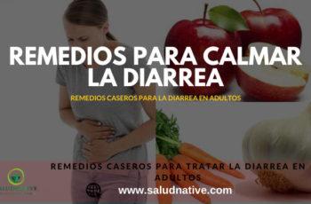 como curar la diarrea
