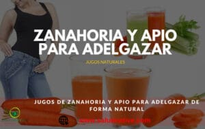jugos naturales para adelgazar rapido