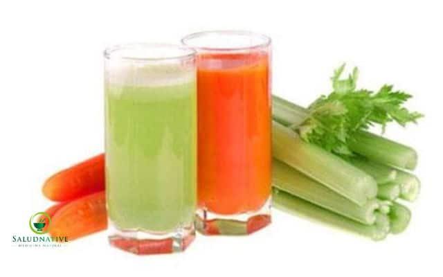 como preparar la zanahoria y el apio para adelgazar