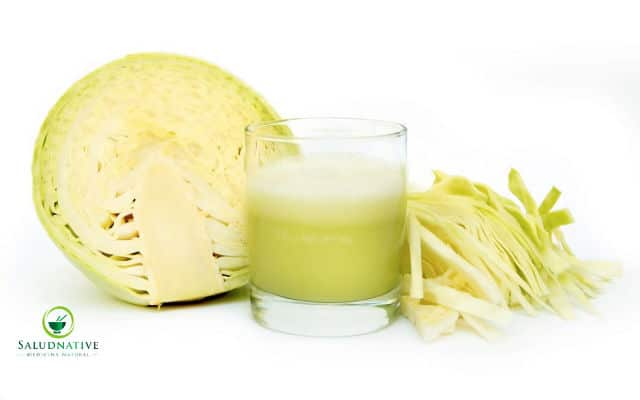 jugo de repollo y ajo para el colesterol