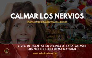 remedios caseros para calmar los nervios de forma natural