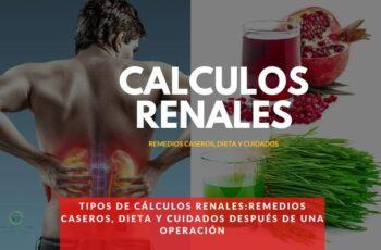Remedios caseros y dieta para cálculos renales
