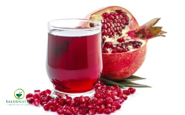 zumo de granada para piedras en los riñones