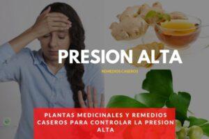 remedios caseros para bajar la presion alta