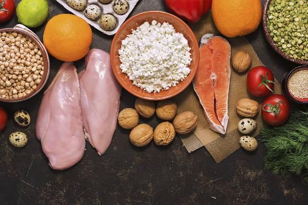 alimentos bajos en grasa