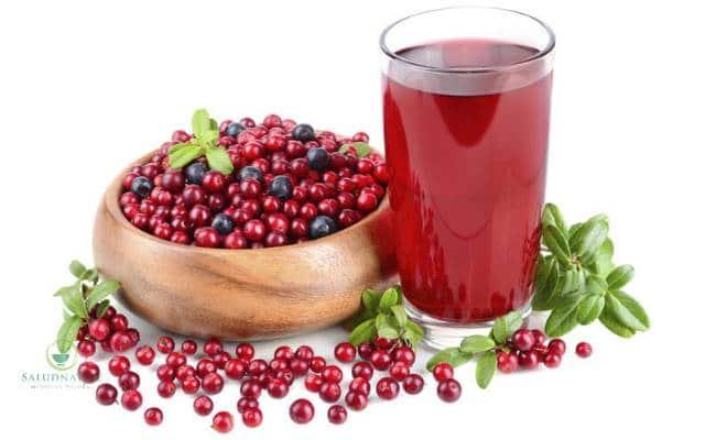 jugo de arandanos para infeccion urinaria en mujeres