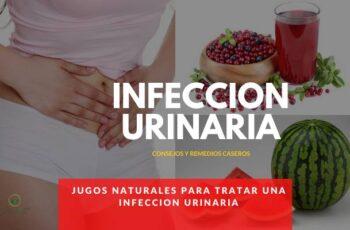 jugos naturales para la infeccion urinaria
