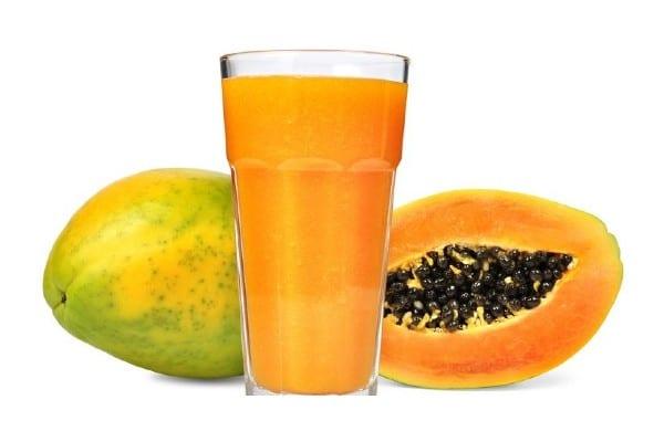jugo de papaya para eliminar parasitos