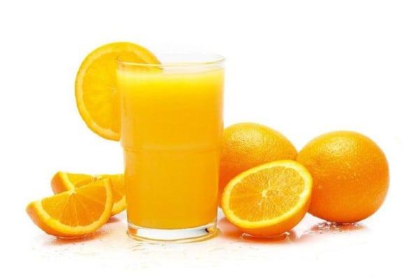 jugo de naranja para aliviar el resfrio comun